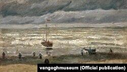 """Море в Шевиненгене"", Ван Гог, 1882"