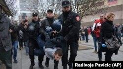Аресты участников протестов в Баня-Луке 25 декабря