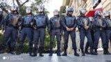 Azerbaijan -- Protest in Baku - 08Oct2019