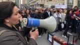 Главное: кто протестует у штаба Зеленского