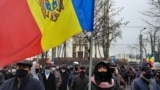 Moldova -- protest against Igor Dodon, called by president elect Maia Sandu, Chișinău, 3 decembrie 2020