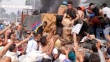В столкновениях на границе Венесуэлы с Колумбией есть погибшие и раненные
