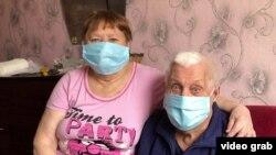 Бабушка и дедушка Елены Баженовой
