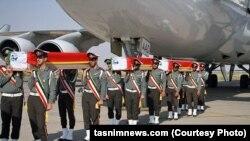 Тела иранцев-паломников, которые погибли во время хаджа в Саудовской Аравии