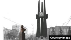 Один из проектов памятника Сталину в Новосибирске
