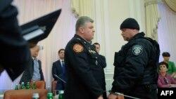 Сергей Бочковский во время ареста 25 марта