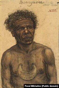 Бангари, один из лидеров коренного австралийского племени, которое населяло Австралию до колонизации континента
