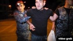 Задержания в Ереване в ночь на 27 июля