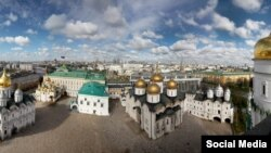 Соборная Площадь в Кремле, Москва