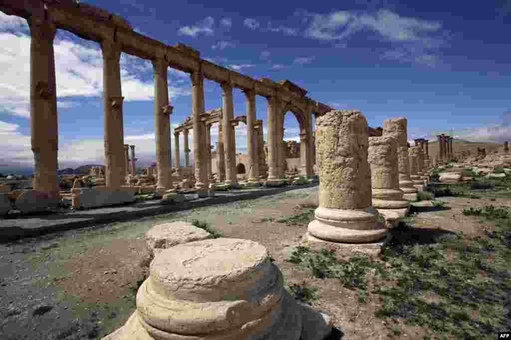 Считается, что Пальмира была основана еврейским царем Соломоном