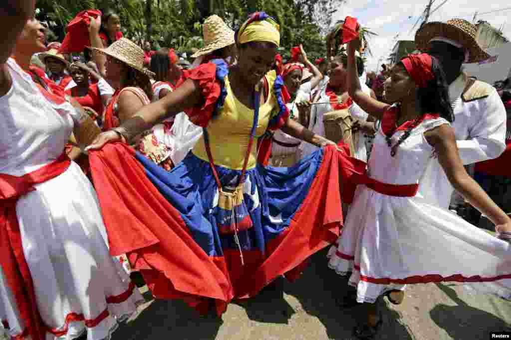 В XVI веке европейцы завезли африканцев в Южную Америку для того, чтобы те работали на сахарных и табачных плантациях