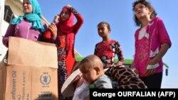 Беженцы в Алеппо