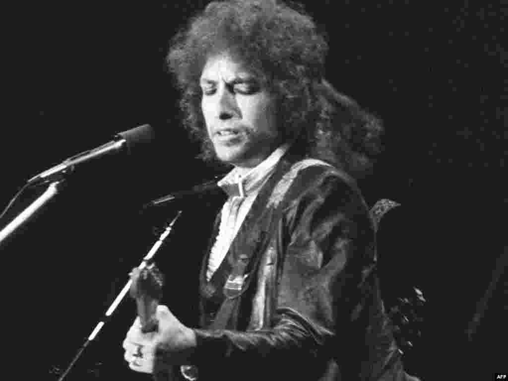 Концерт Дилана в Париже в июле 1978-го.