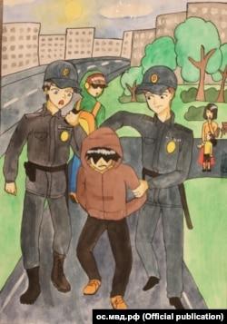 Сайдана Хомушку, 13 лет, Республика Тыва, ос.мвд.рф