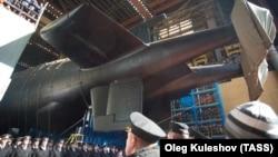 """Северодвинск. Атомная подводная лодка специального назначения проекта 09852 """"Белгород"""""""