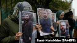 Протесты после убийства Хангошвили в Берлине