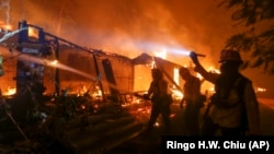 В Калифорнии сильнейшие за 85 лет пожары. Фотогалерея