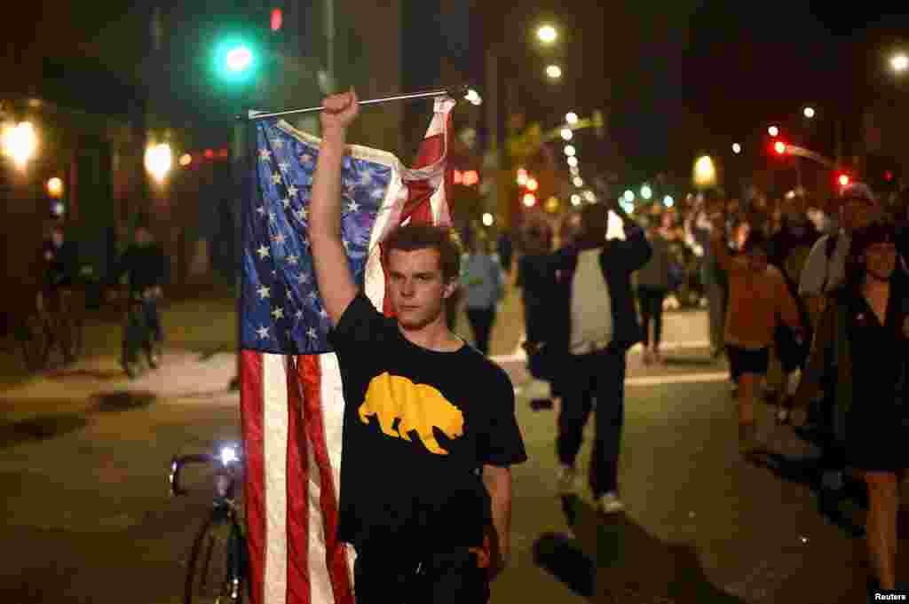 В большинстве своем протесты носили мирный характер