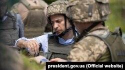 Владимир Зеленский на Донбассе, 27 мая 2019 года