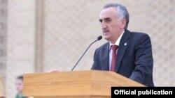Глава Горно-Бадахшанской автономной области Таджикистана Ёдгор Файзов