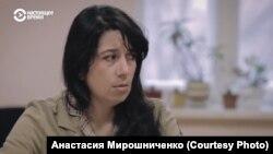 """Анна Печинина, кадр из фильма """"Дебют"""""""