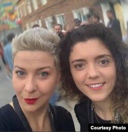 Мария Колесникова и Татьяна Хомич