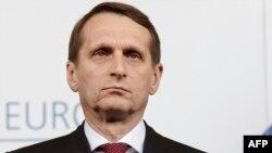 Спикер Госдумы Сергей Нарышкин в ПАСЕ 25 января 2015 года