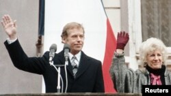 Вацлав Гавел в 1989 году