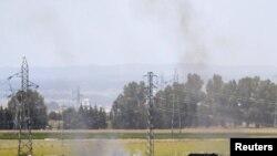 Обломки самолета Airbus A400M на месте аварии, фото Reuters