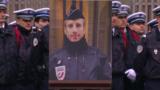"""Партнер застреленного в Париже полицейского: во мне """"нет ненависти"""" к его убийцам"""