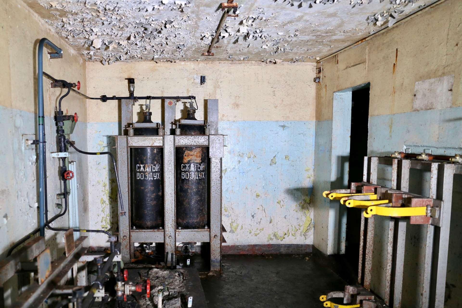 Подсобное помещение заброшенного бункера проекта «Явор»