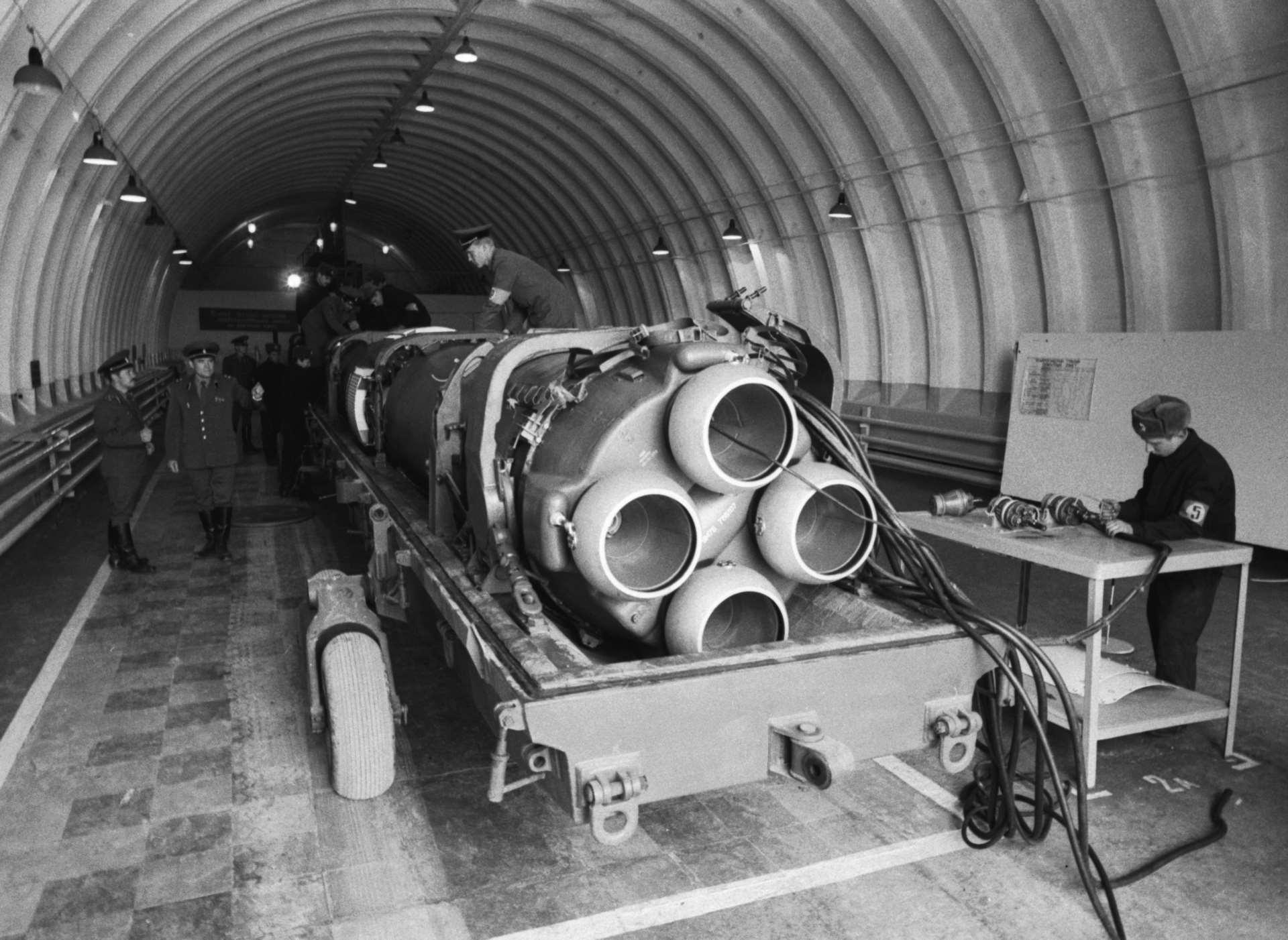 Отработка технологии ликвидации ракет на полигоне Сарыозек