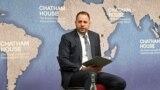 U.K. -- Andriy Yermak, aide to Ukraine President, speaks at London's Chatham House, London, December 5, 2019
