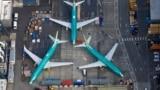 Парк Boeing 737 MAX на заводе по производству самолетов под Вашингтоном. 21 марта 2019