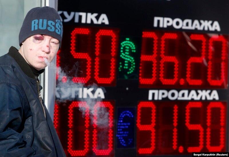 Россия сносит табло. Тест: вспомните главные моменты укрепления и падения курса рубля
