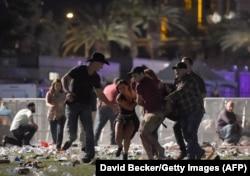 Расстрел толпы в Лас-Вегасе