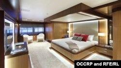 """Интерьеры яхты """"Prima"""", формально принадлежащей нефтяной компании SOCAR, фото OCCRP"""