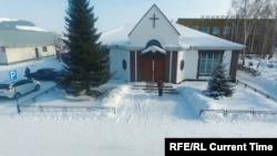 Лютеранская церковь на Алтае