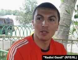 Гражданин Таджикистана Алишер Кодиркулов, добровольно вернувшийся домой из Ирака