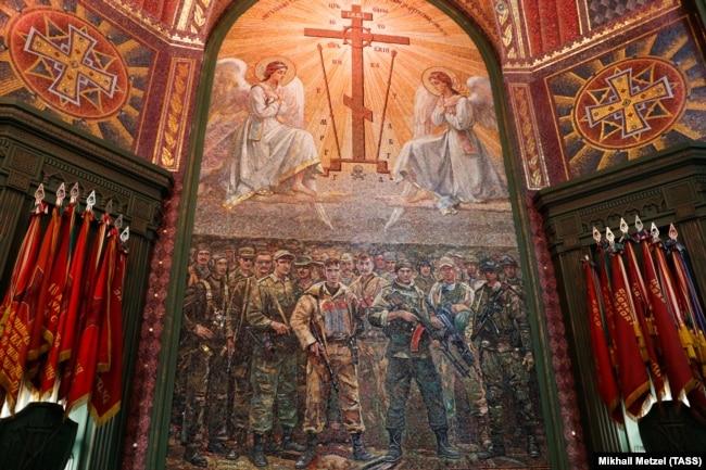Освящение главного храма Вооруженных сил РФ в Кубинке