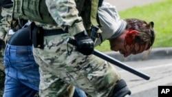 Разгон протеста в Минске 13 сентября 2020 года