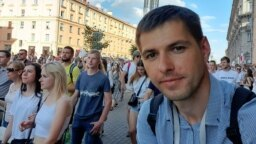 Current Time journalist Roman Vasyukovich
