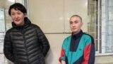 Асия Тулесова и Бейбарыс Толымбеков вышли из СИЗО после 15 суток ареста
