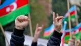 Azerbaijan -- opposition protest, flag holiday, Baku, 9 November 2014