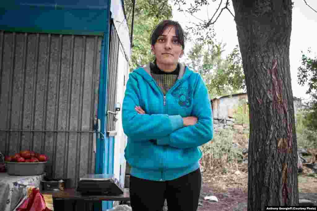 Жительница трущоб в Гюмри