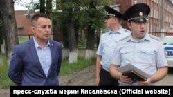 Мэр Киселевска Максим Шкарабейников