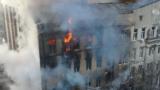 Пожар в Одессе: четыре погибших, 11 пропавших без вести