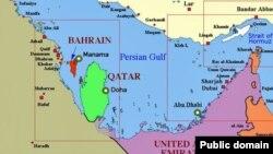 Страны персидского залива, Катар – зеленый