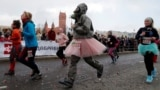 Amidst the coronavirus pandemic, women attended Minsk's March 8 Beauty Run race to mark International Women's Day.