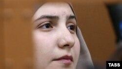 Студентка Патимат Гаджиева в суде